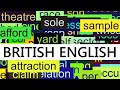 watch he video of 3000+ Common English Words with British Pronunciation