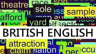 Video 3000+ Common English Words with British Pronunciation download MP3, 3GP, MP4, WEBM, AVI, FLV November 2017