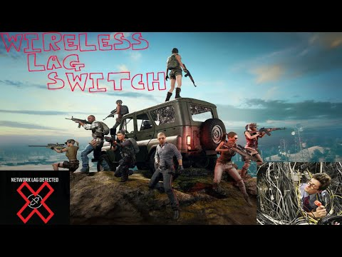 Wireless Lag Switch Working All Consoles PUBG