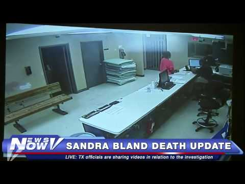 FNN: Videos of Sandra Bland in Jail Before She Died