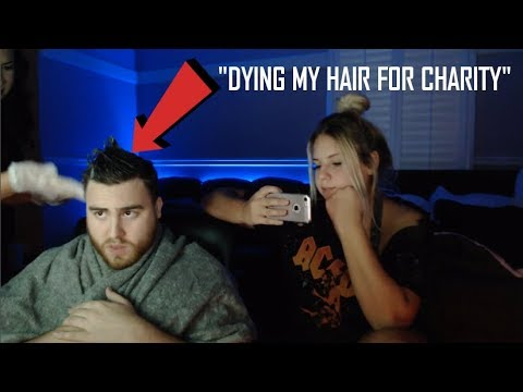 LosPollosTV Dyes His Hair For Charity (Kinda) Promises To Shave His Head The Next Day