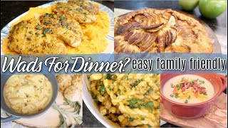 Amazing Autumn Recipes! My Favorite What's For Dinner! Family-Friendly & Easy!  Cook With Me!