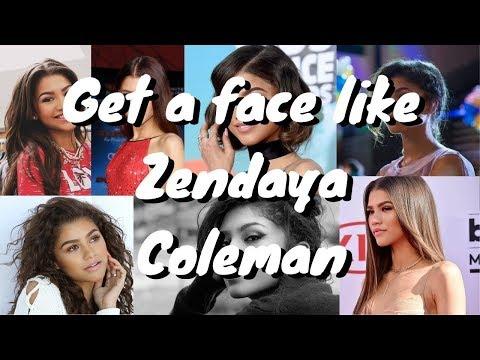 🤩get-a-face-like:-zendaya-coleman-(desired-face-affirmations)-silent