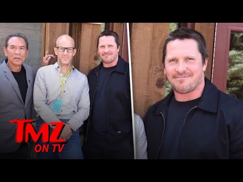 Believe It Or Not This Is Christian Bale!  TMZ TV