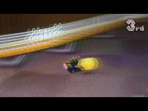 Mario Kart 7 Online match 6 - Blue shells ruin your day.