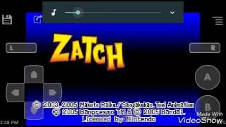 GBA Gameplay: Zatch Bell eletric arena