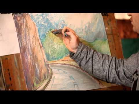 Как гуашью нарисовать облака 149