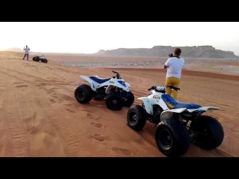 Red Sand Riyadh motor bike