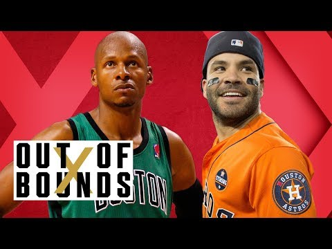 José Altuve Trump Death Stare; Ray Allen on Boston Beefs; Contract Clapbacks! | Out of Bounds