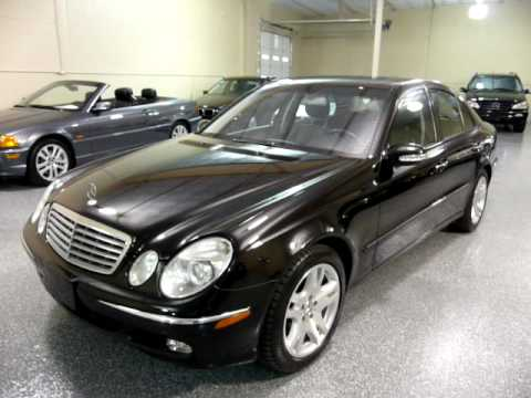 2003 mercedes benz e500 4dr sedan 5 0l 1938 sold for Mercedes benz e500 2003