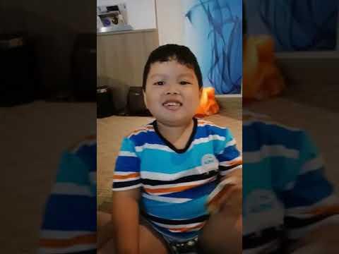 Louis nyanyi lagu mandarin
