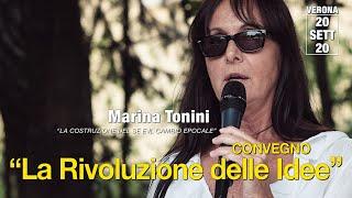 Marina #Tonini: LA COSTRUZIONE DEL SÈ E IL #CAMBIO EPOCALE