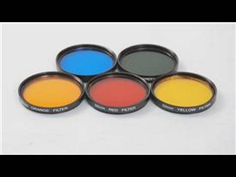 Photography Techniques : How to Use Camera Color Filters ...