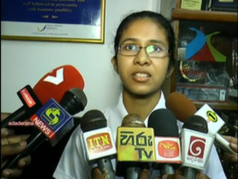 2016 GCE O/L exam: Best results in the island (English)