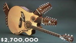 Top 10 Most Valuable Guitars of All Time