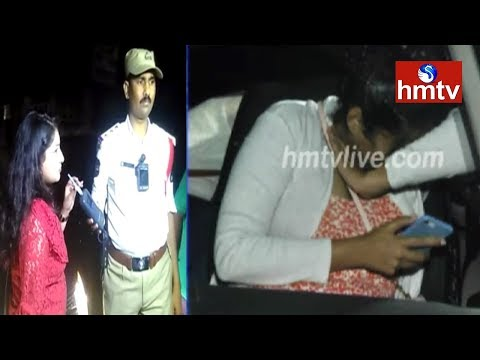 Police Conducts Drunk & Drive Test At Banjara Hills   Telugu News   hmtv
