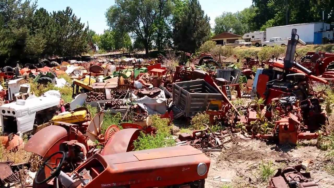 Used Tractor Parts Salvage Yards : Garden tractor salvage yard fasci