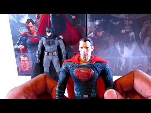 MEZCO ONE:12 COLLECTION BATMAN V SUPERMAN ACTION FIGURES!!!