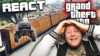 React: Absolutes Chaos beim Fangen in GTA Online