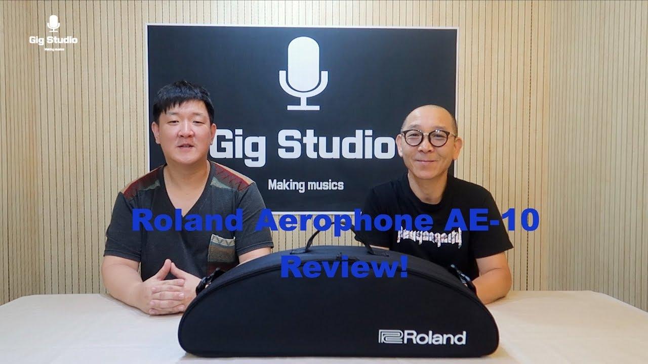 [색소폰 리뷰] 색소포니스트 이정식과 함께하는 색소폰 이야기 #2 Roland Aerophone AE-10 리뷰!