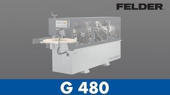 FELDER® - G480 - Edgebander (English)