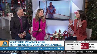'Youtube Rewind' 2019: Top Trending Videos in Canada