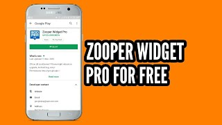 Download lagu How to get zooper widget pro for free