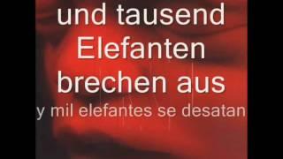 Rammstein - Rein raus (Letras Alemán - Español)