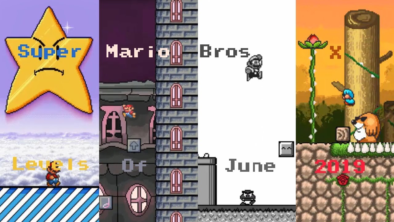 All Super Mario Bros X (SMBX 2 0 and SMBX 1 4 5) Custom Levels of June 2019  (16 Levels)