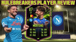 New promo! still the belgium beast! enjoy this 86 rulebreakers dries mertens review!rulebreakers player review fifa 21thank you for watching! dont fo...