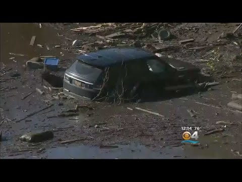 California Mudslides: Officials Revise Number Of Missing To 8