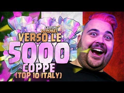 Verso le 5.000 Coppe top 10 Italy.