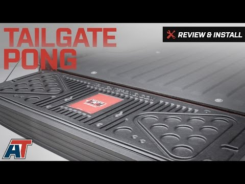 2015-2017 F150 Tailgate Pong Review & Install