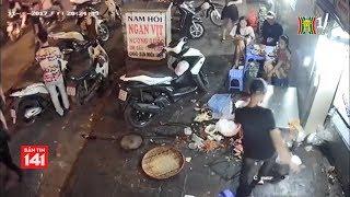 Bắt nhóm đối tượng đập phá quán ăn tại 21 Hàng Vôi | Tin nóng 24H | Nhật ký 141