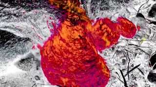 12/29/2014 -- Lava flow moving towards Marketplace -- Close up view + Color composite