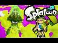 Splatoon Wii U Unlock the KRAKEN! Zapper Weapon Krak-On Roller Online Gameplay Walkthrough PART 5