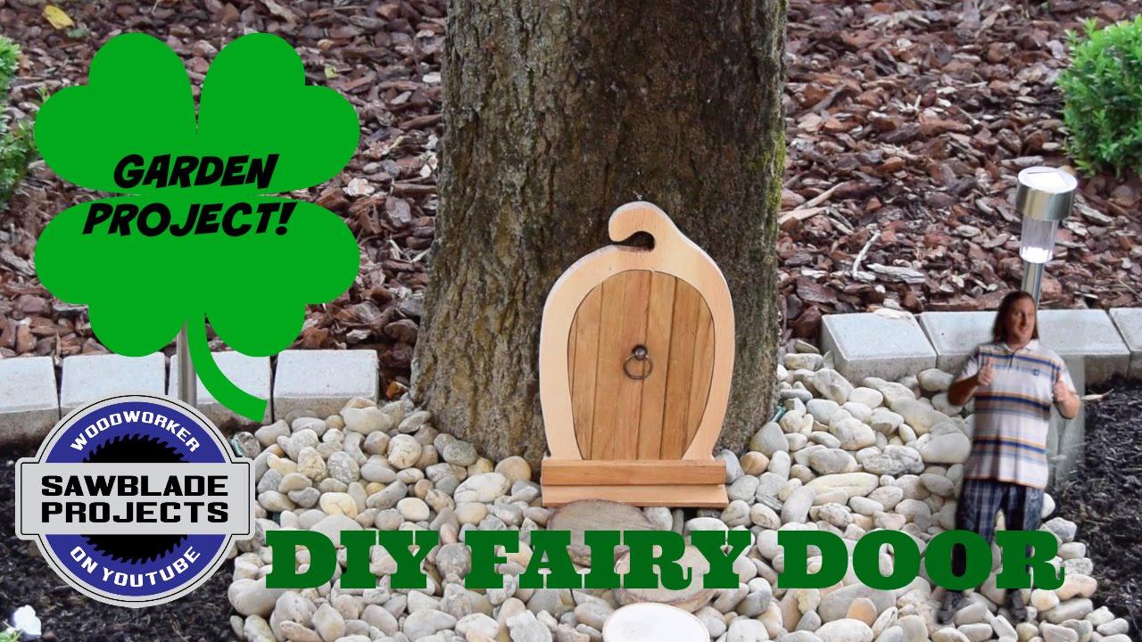 How to Make Wooden Fairy Doors for the Garden | FeltMagnet