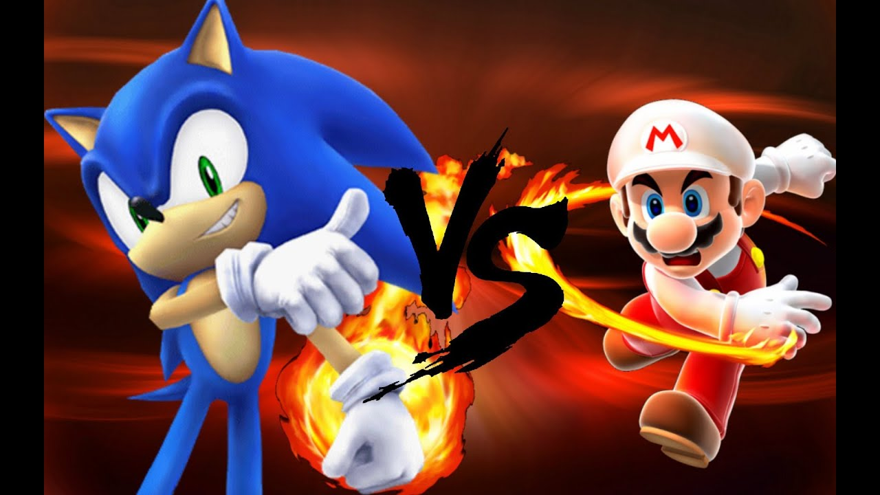 Wallpaper 3d Mario Bros Mario Vs Sonic Hd Youtube