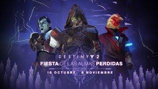 Destiny 2 – Tráiler de la Fiesta de las almas perdidas [ES]