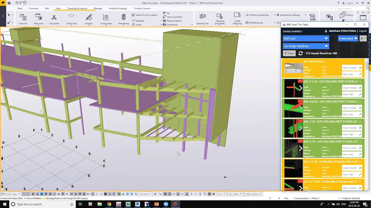 Issue tracking in Tekla Structures and beyond