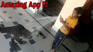 Android Best Camera Fun App Ever | amazing 3d dinosaur's in reality | Holographic Effect