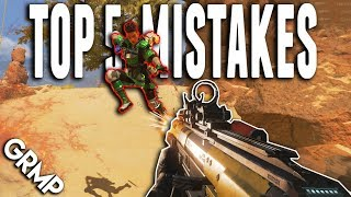 Top 5 Mistakes | APEX Legends Tips