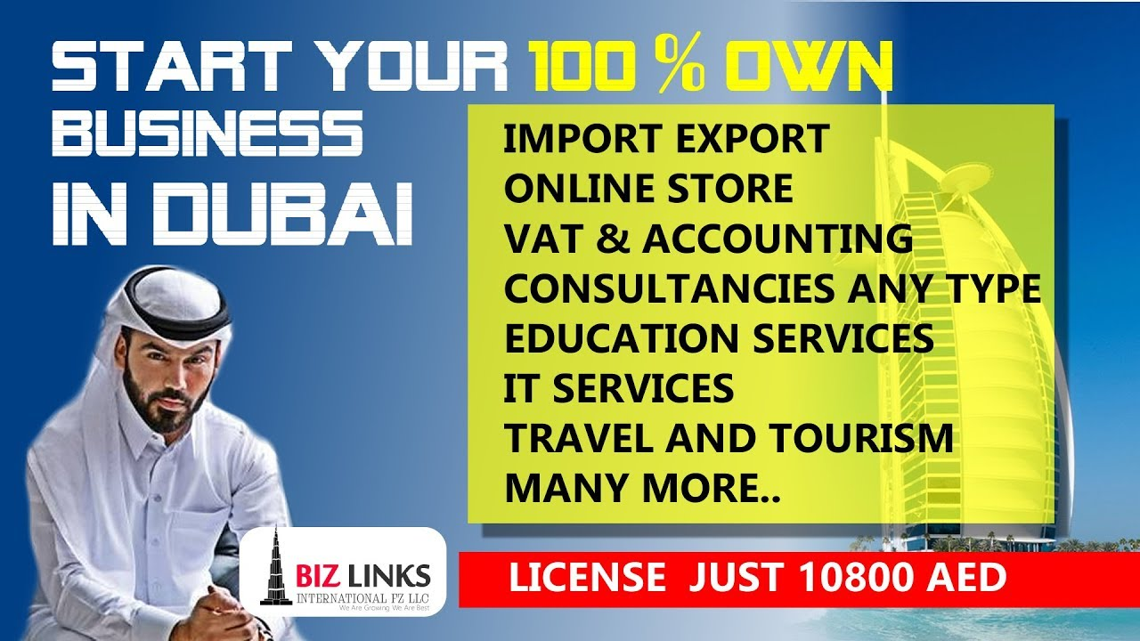 Start Your Own Business Setup in Dubai Free Guide No Experience NO PROBLEM