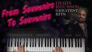 DEMIS ROUSSOS FROM SOUVENIRS TO SOUVENIRS COVER by YAMAHA DJX