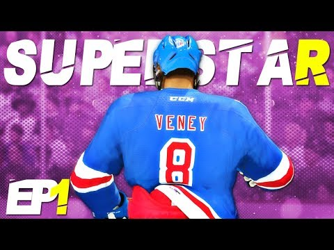 Creation Of The Next NHL SUPERSTAR! | NHL 18 Be A Pro Career Mode | EP1