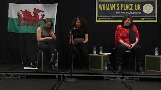 A Woman's Place is speaking up in Wales: Raquel Rosario Sanchez, Cardiff (12th April 2018)
