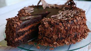 "Торт ""Шоколадный Бархат""  Для Любителей Шоколада"