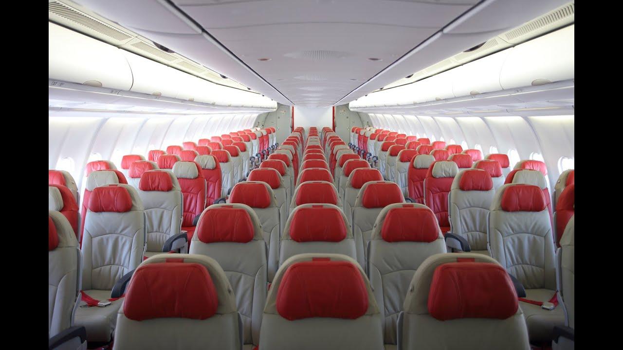 Thai Airasia X Airbus A330 300 Aircraft Tour Hd May