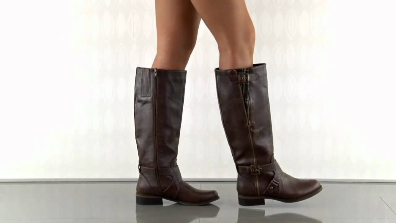 Hertlez in Medium Brown LL G by Guess - YouTube