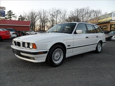 1995 Bmw 525i Touring Wagon Start Up Engine And In Depth
